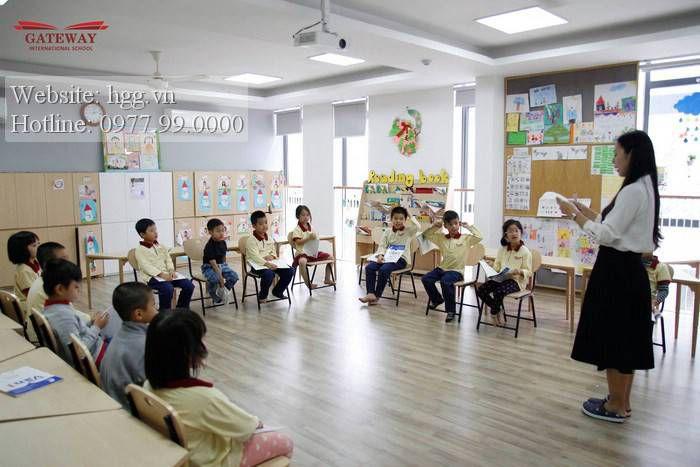 Lớp học tại trường Gateway Thọ Tháp