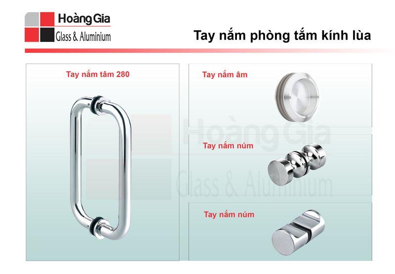 Phụ kiện phòng tắm kính lùa 10 x 30