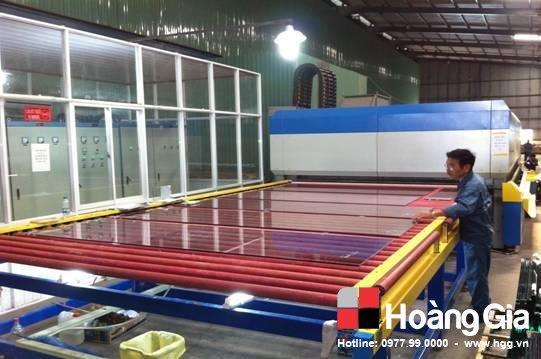 Quy trình sản xuất kính cường lực chuẩn hgg.vn