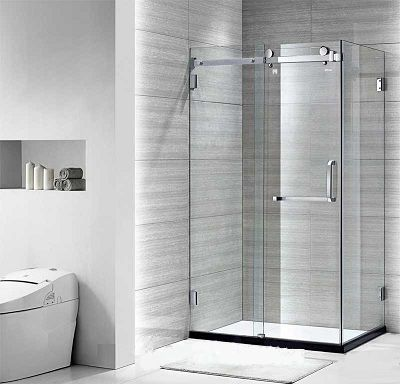 Image result for cửa kính cường lực buồng tắm