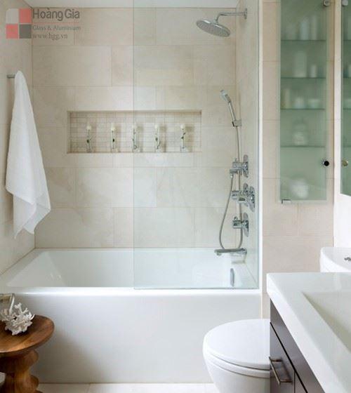 Bồn tắm đứng vách kính đẹp – Hgg.vn
