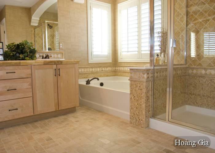 vệ sịnh vách kính nhà tắm