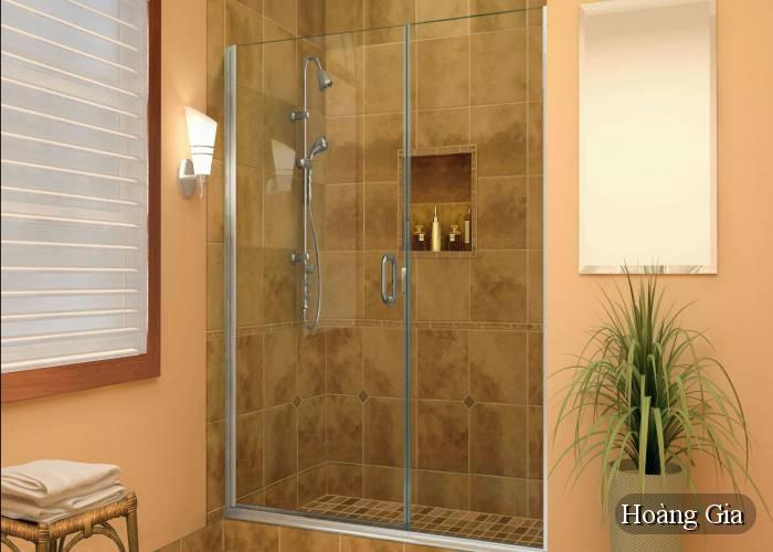 vách tắm kính đẹp hiện đại